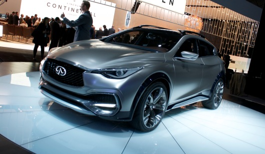 Infiniti QX30 - 2015 New York International Auto Show/ Credit: Carina Ockedahl
