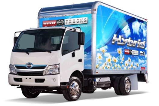 Hino 195 hybrid truck. (Photo Credit: Hino Motor Sales USA)