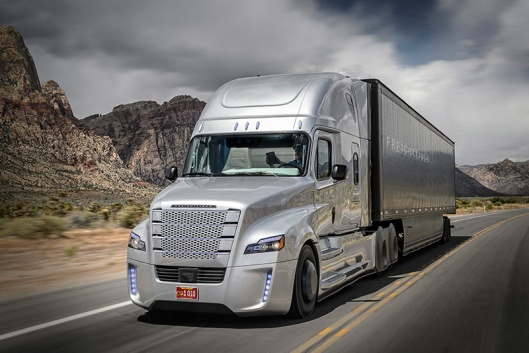 The Freightliner Inspiration (Photo Credit: Daimler AG)